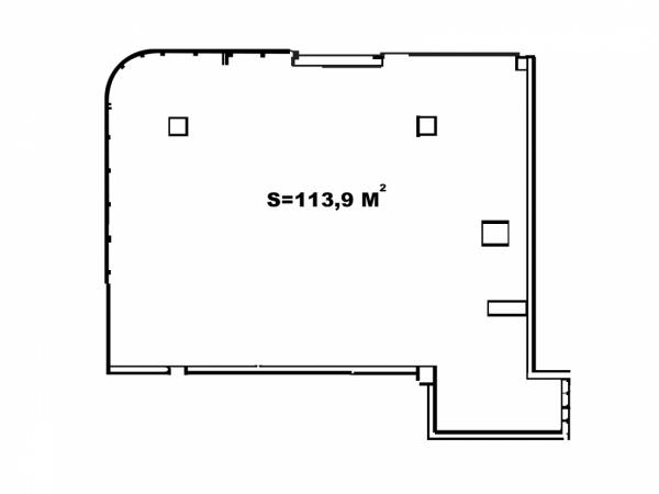 Планировки двухкомнатных квартир 124.9 м^2